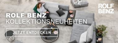 Rolf Benz Kollektionsneuheiten
