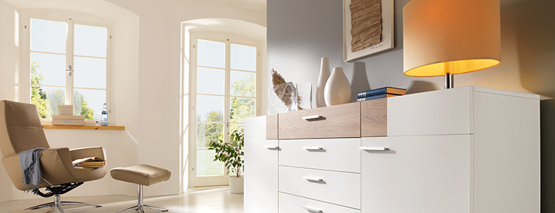 sideboard weiss holz