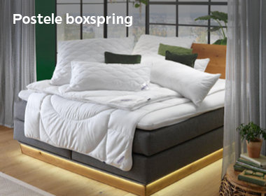 Postele Boxspring