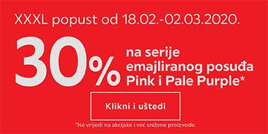 30% popusta na emajlirano posuđe u Lesnini
