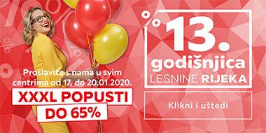 13. godišnjica Lesnine Rijeka