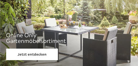 Online Only Gartenmöbelsortiment