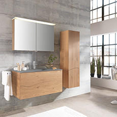 Koupelnový set z pravého dřeva
