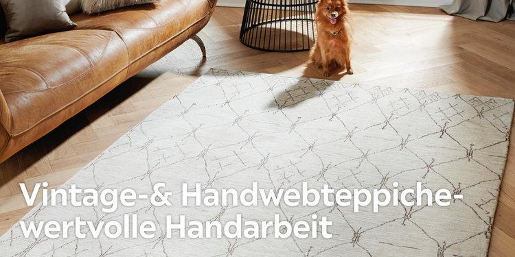 Vintage- & Handwebteppiche – wertvolle Handarbeit