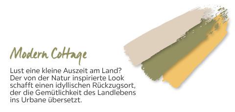 Modern Cottage - in den Farben khaki-beige-ocker