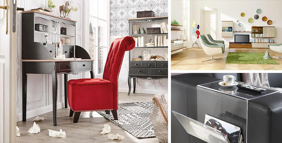 Různé styly pro váš obývací pokoj: retro, originální, moderní, vintage. Vše v XXXLutz.