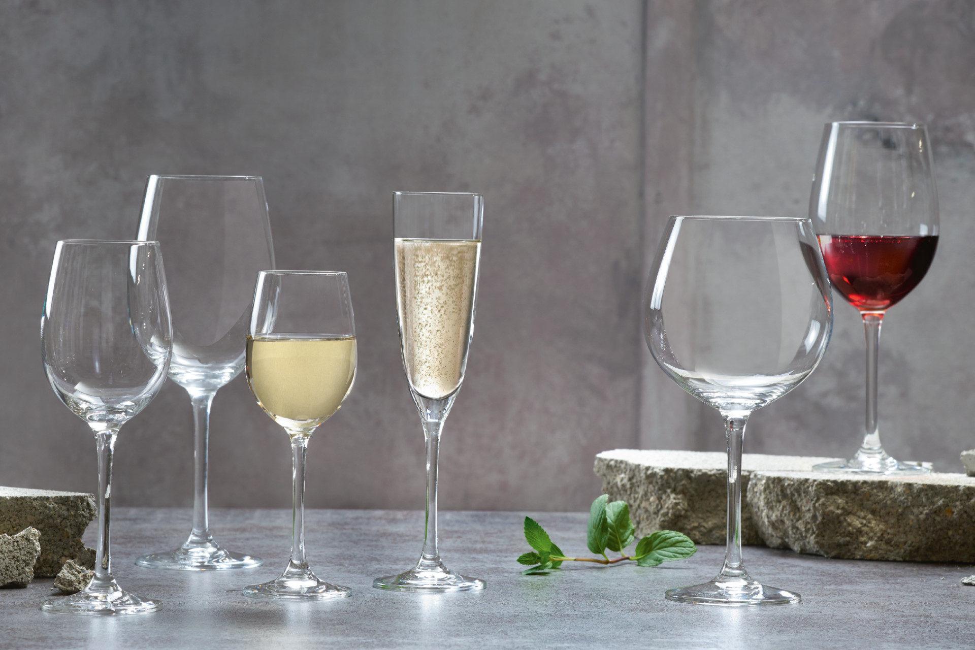 Vin- och champagneglas