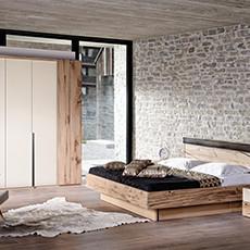 Schlafzimmerserie _V-Pur
