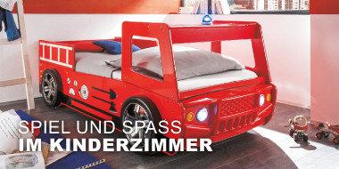 Spiel und Spaß im Kinderzimmer Faso + Möbel 3 Betten