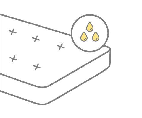Matratze reinigen Urinflecken