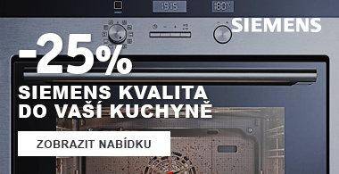 Sleva na spotrebice Siemens