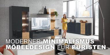 Moderner Minimalismus Möbeldesign für Puristen