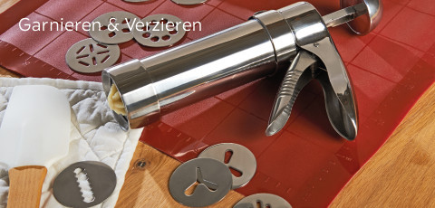 Kaiser Garnieren & Verzieren - entdecken!