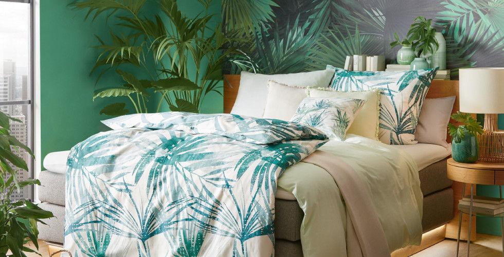 Green Living Schlafzimmer