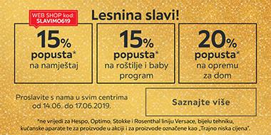 Proslavite s nama godišnjicu Lesnine Split uz popuste