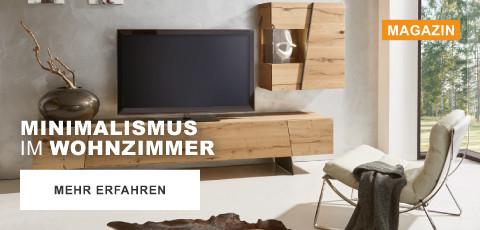 Minimalismus im Wohnzimmer