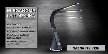 Moderna i elegantna LED stolna svjetiljka Lesnina XXXL