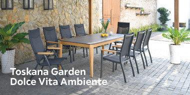 Toskana Garden Dolce Vita Ambiente