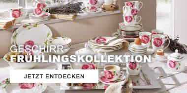 Geschirr-Frühlingskollektionen
