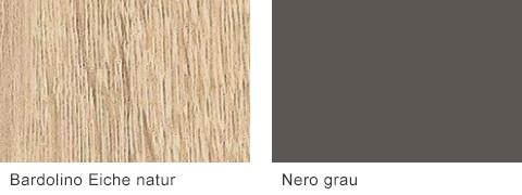 Set One by Musterring Malta Korpusfarben Bardolino Eiche Nero grau