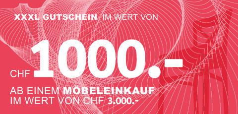 CHF 1000.- sparen!