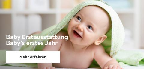 Baby Erstausstattung - Baby's erstes Jahr