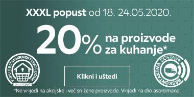 20% na proizvode za kuhanje