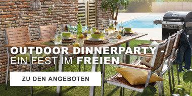 Outdoor-Dinnerparty - Ein Fest im Freien