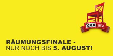 Raeumungsfinale - Nur noch bis 5 August!