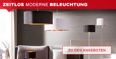 zeitlos moderne Beleuchtung