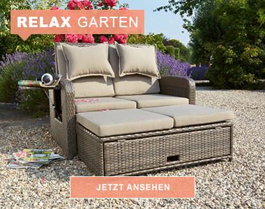 Relax Garten: Gemütliche Outdoor-Möbel