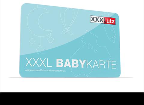 XXXL Babykarte
