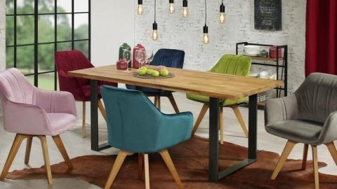 moderni drveni stol za blagovaonicu