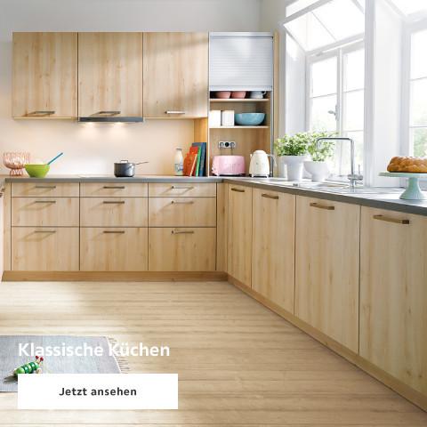 Klassische Küchen Holz