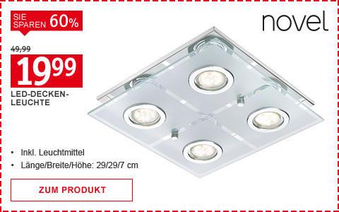 Leuchte Novel 19,99 Euro