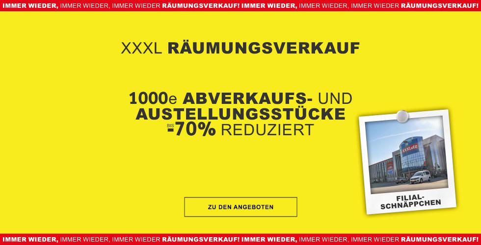 xxxl Filialschnaeppchen