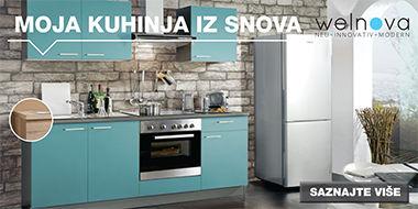 Moderna i praktična kuhinja Lesnina XXXL