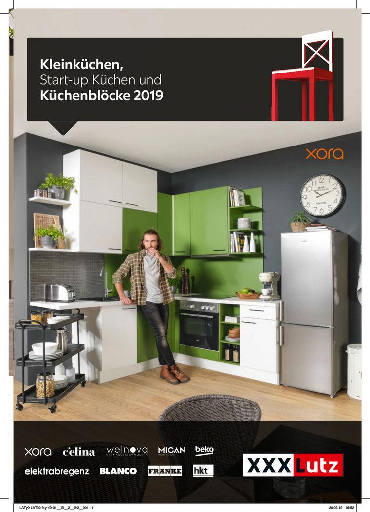 Kleinküchen, Start-up Küchen und Küchenblöcke 2019