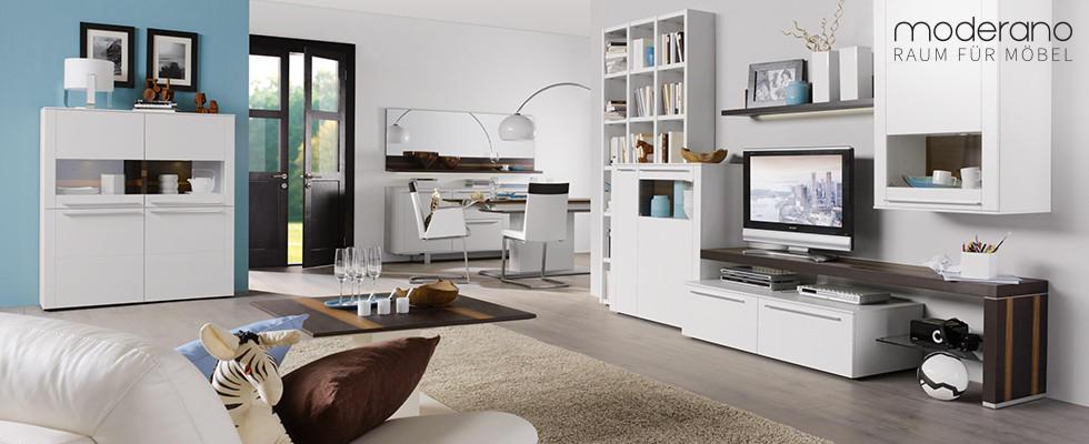 Moderano Raum Für Möbel Weißes Wohnzimmer