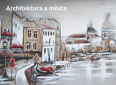 Obrazy měst a architektury