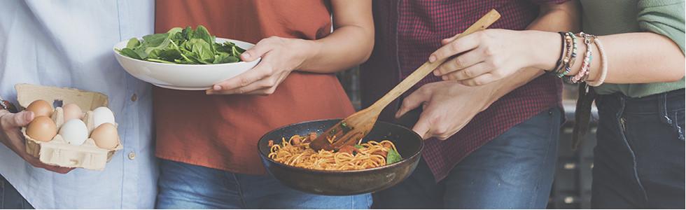 Studentenküchen Pasta