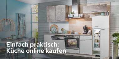 Einfach praktisch: Küche online kaufen