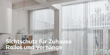 Sichtschutz für Zuhause Rollos und Vorhänge