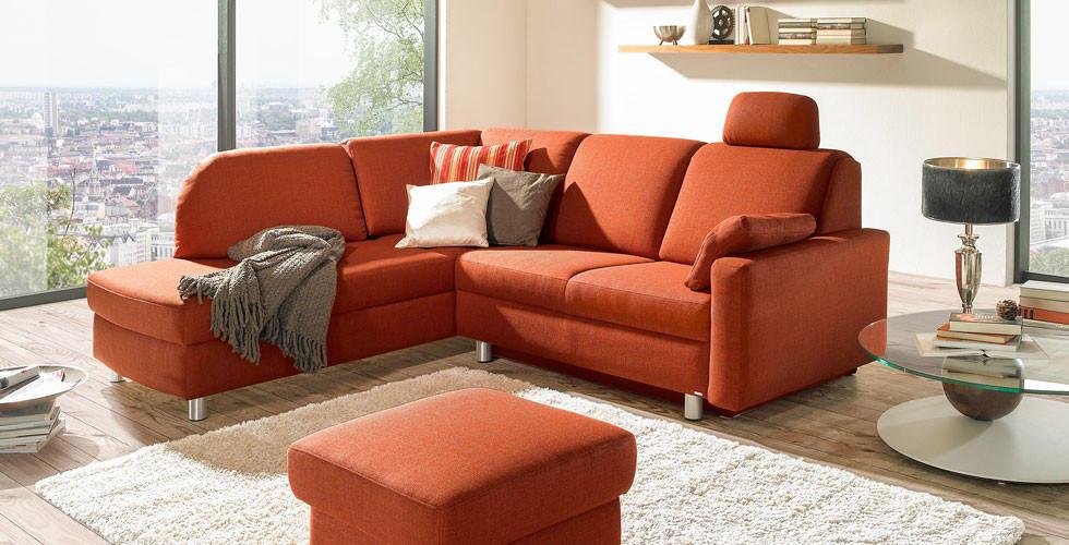 Sedda-Sofa mit Bettfunktion, Stauraum, und vielem mehr.