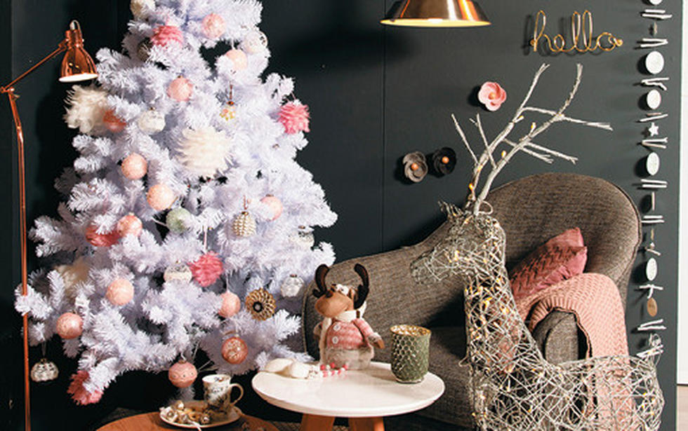 pastelni božićni ukrasi