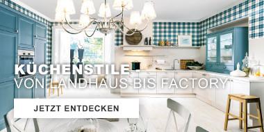 Kuechenstile - Von Landhaus bis Factory