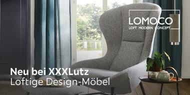 Neu bei XXXLutz  Lomoco Loftige Design-Möbel