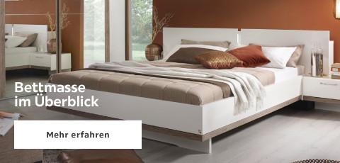 Bettmasse im Ueberblick