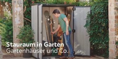 Stauraum in Garten