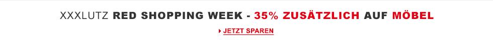 Red Shopping Week 35% zusätzlich